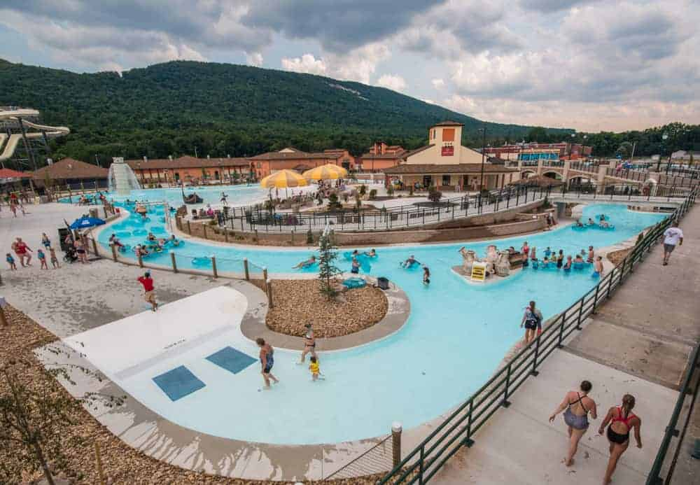 The new water park at DelGrosso's Amusement Park in Altoona, Pennsylvania.