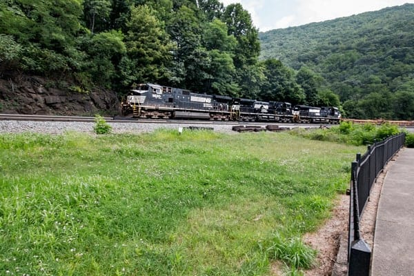 The Horseshoe Curve is one of the best things to do near Saint Francis University.