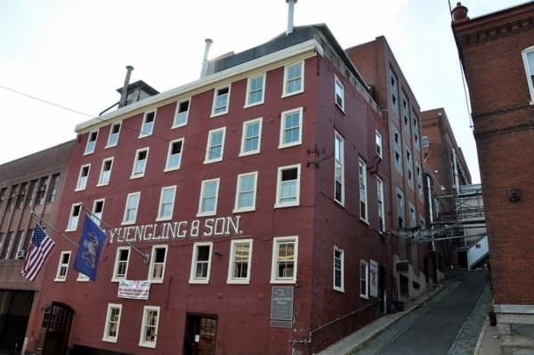 Yuengling Brewery in Pottsville, Pennsylvania: America's Oldest Brewery.