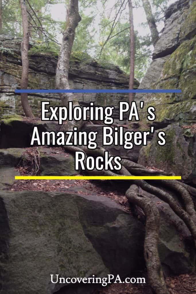 Exploring Bilger's Rocks in Pennsylvania