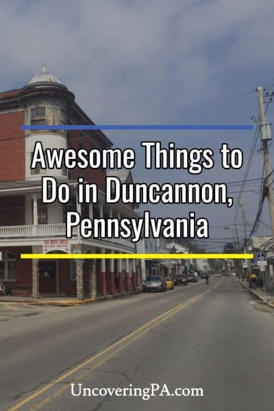 Awesome things to do in Duncannon, Pennsylvania