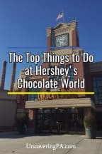 The top things to do at Hershey's Chocolate World in Hershey, Pennsylvania