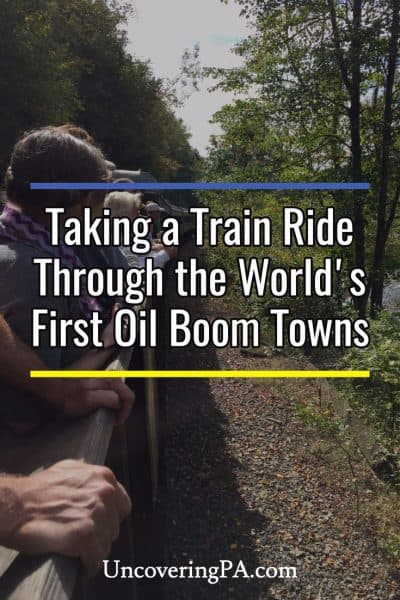 Riding the Oil Creek and Titusville Railroad through Northwestern Pennsylvania