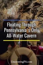 Visiting Penn's Cave in Centre County, Pennsylvania