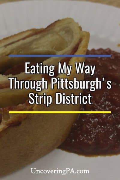 Eating my way through Pittsburgh's Strip District on a Burgh Bits and Bites Food Tour