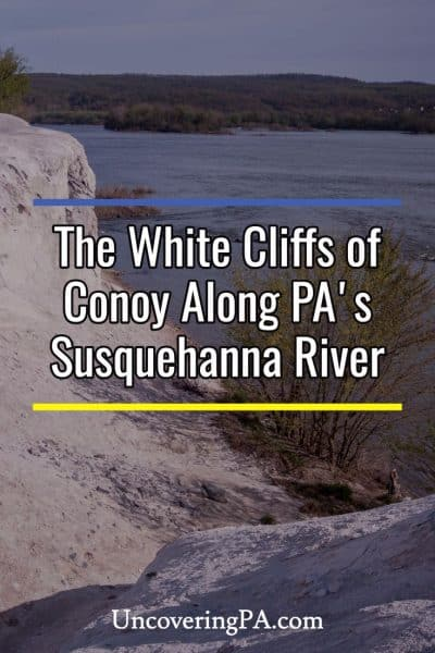 The White Cliffs of Conoy in Lancaster County, Pennsylvania
