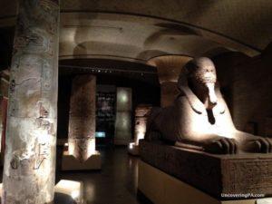 The Sphinx at the Penn Museum in Philadelphia.