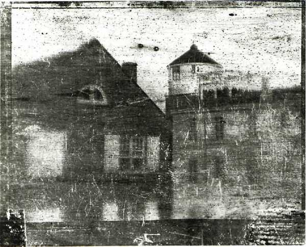 The oldest surviving photograph of America taken in 1839. (Creative Commons: Wikimedia.org)
