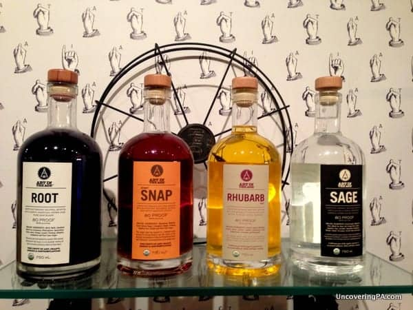 Art in the Age produces a fantastic line of handcrafted liquors.
