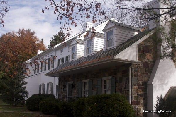 The Eisenhower Homestead in Gettysburg, Pennsylvania.