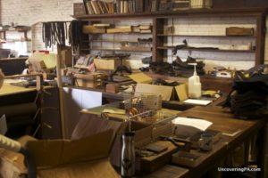The workshop of Peg and Awl in the Port Richard neighborhood of Philadelphia.