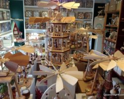 Authentic German Christmas Handcrafts at The Christmas Haus in New Oxford