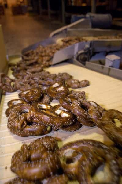 Snyder's of Hanover makes America's most popular pretzels.