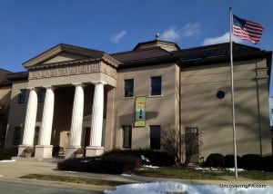 Visiting the National Watch and Clock Museum in Columbia, Pennsylvania.