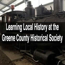 Visiting the Greene County Historical Society Museum in Waynesburg, Pennsylvania
