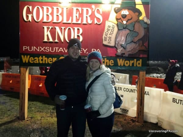 Dressing warmly is important when taking in Groundhog Day in Punxsutawney, Pennsylvania