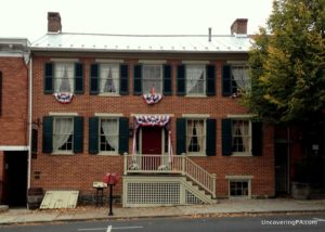 Visiting the Shriver House in Gettysburg, Pennsylvania