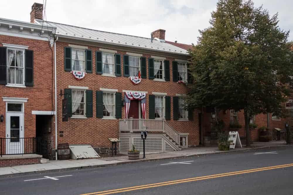 Shriver House in Gettysburg