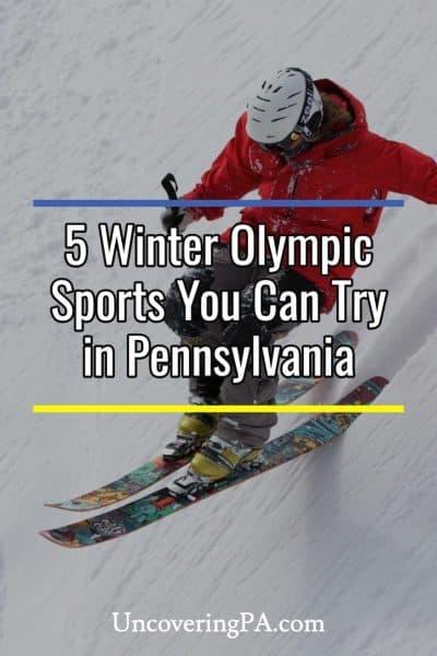 Winter Olympic sports in Pennsylvania