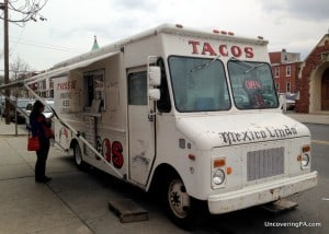 Masa Authentic Mexican Cuisine's truck in Harrisburg, PA