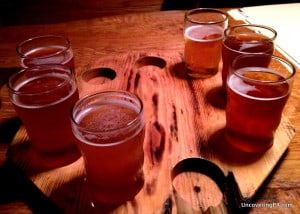 Visiting North Country Brewing Company in Slippery Rock, Pennsylvania.