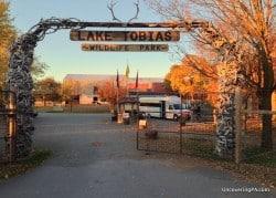 Visiting Lake Tobias Wildlife Park in Dauphin County, Pennsylvania.