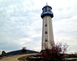 Visiting Tionesta's Unusual Sherman Memorial Lighthouse