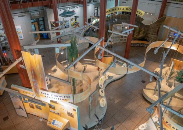 Museum at the Tom Ridge Environmental Center in Erie, PA