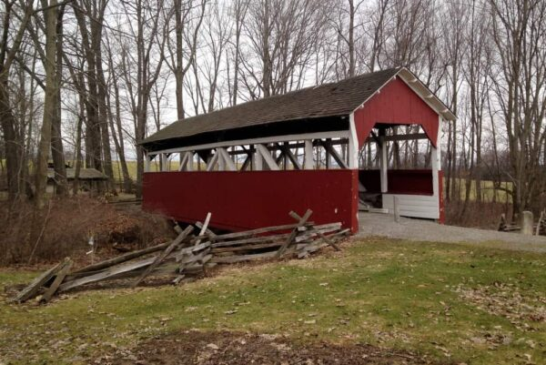 Walters Mill Covered Bridge at the Somerset Historical Center in PA