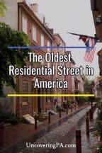 The Oldest Residential Street in America: Elfreth's Alley in Philadelphia, Pennsylvania
