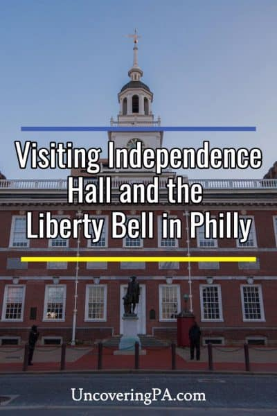 Visiting Independence Hall and the Liberty Bell in Philadelphia, Pennsylvania