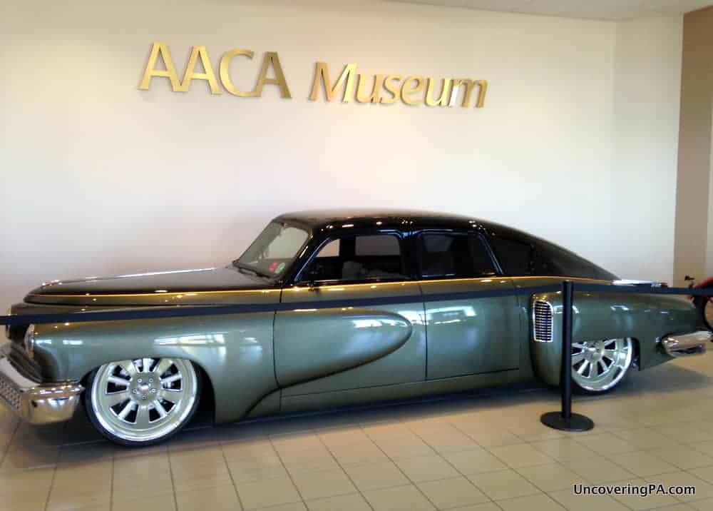 Visiting the Antique Auto Museum in Hershey. AACA Museum