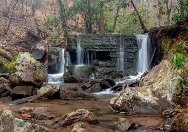 Table Falls in the Quehanna Wild Area of Pennsylvania