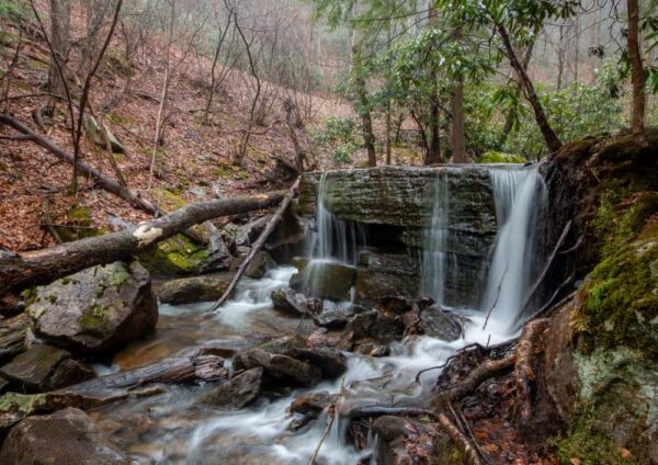 Table Waterfall in Quehanna Wild Area of PA