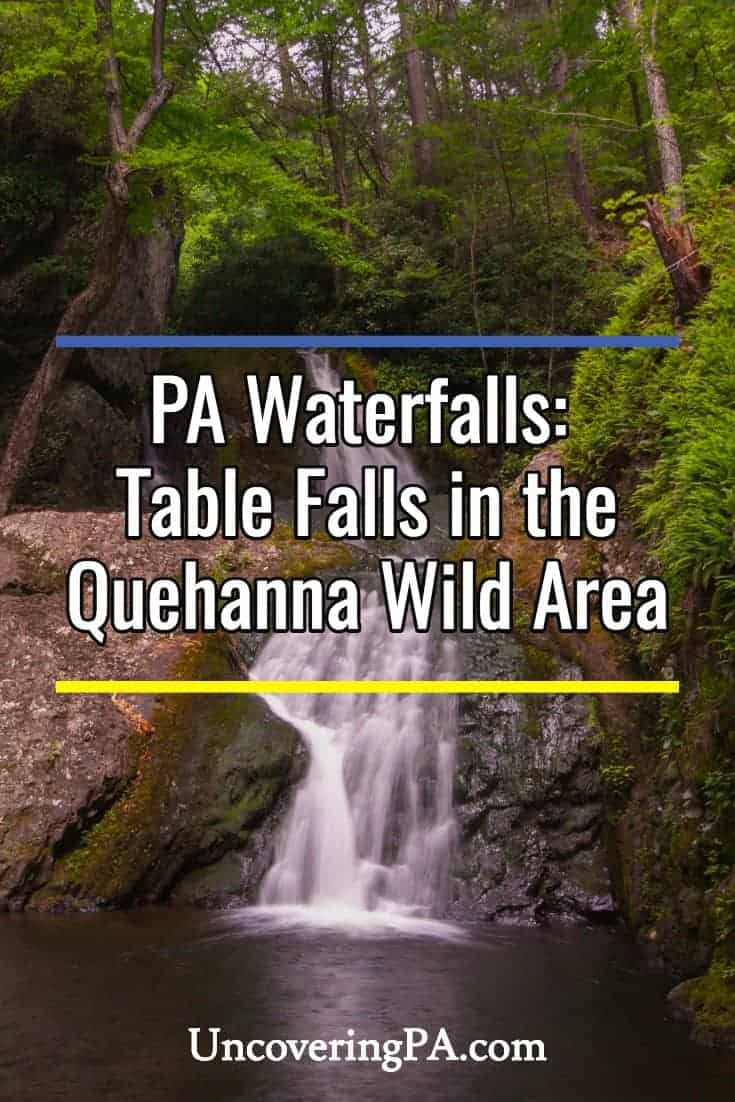 Pennsylvania Waterfalls: Finding Table Falls in the Quehanna Wild Area