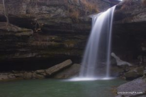 Buttmilk Falls in Beaver County, PA