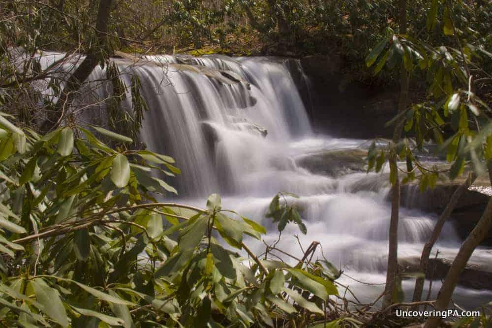 Jonathan Run Falls in Ohiopyle State Park