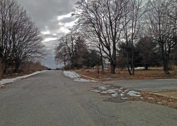Abandoned street in Centralia PA