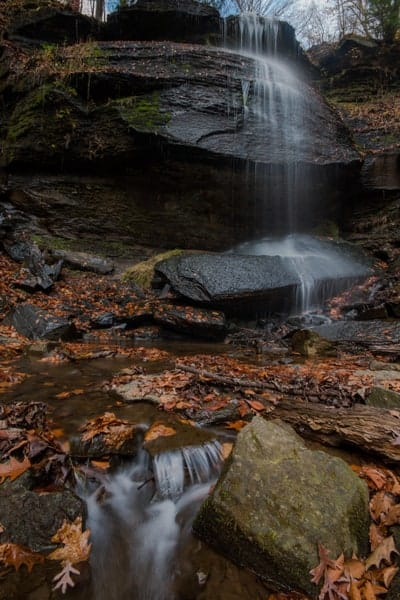 How to get to Buttermilk Falls near Route 22.