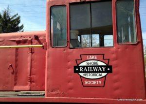 Visiting the Lake Shore Railway Museum in North East, Pennsylvania.