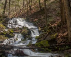 How to Get to Miller Falls in Oil Creek State Park in Northwestern Pennsylvania