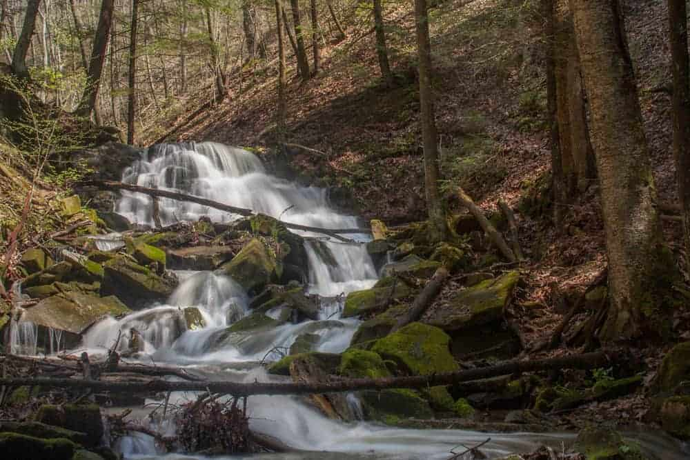 Visiting Miller Falls in Oil Creek State Park