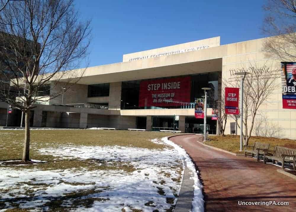 Visiting the National Constitution Center in Philadelphia, Pennsylvania