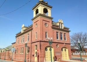 Visiting the Pennsylvania Fire Museum in Harrisburg, Pennsylvania.