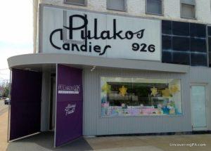Taking a Factory Tour at Pulakos Chocolates in Erie, Pennsylvania.