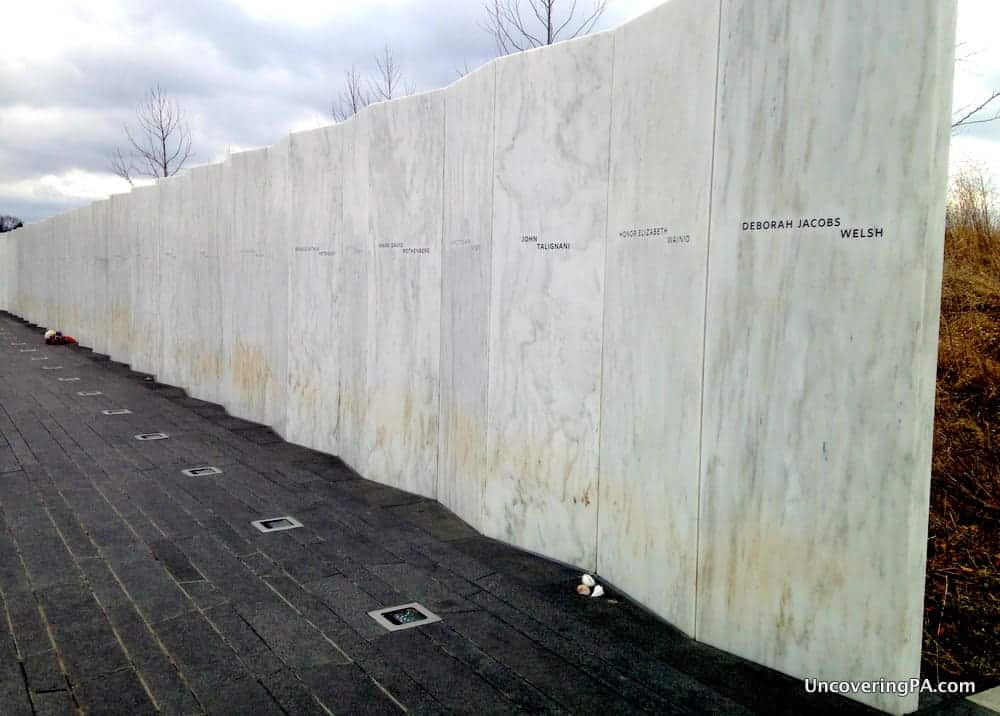 Paying Your Respects at the Flight 93 National Memorial in