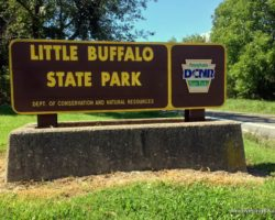 Hiking in Little Buffalo State Park to Discover its Beauty and History