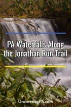 Jonathan Run Trail waterfalls
