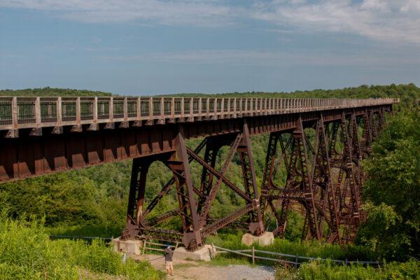 Kinzua Bridge near Mount Jewett PA