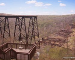 Contemplating Nature's Beauty and Destructive Power at Kinzua Bridge State Park